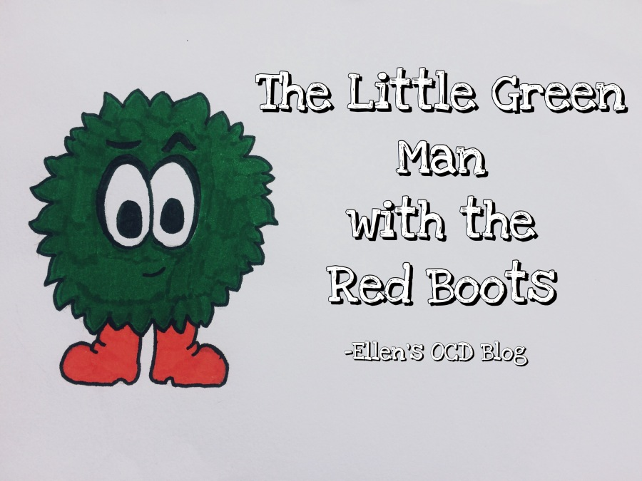 The Little Green Man with the Red Boots